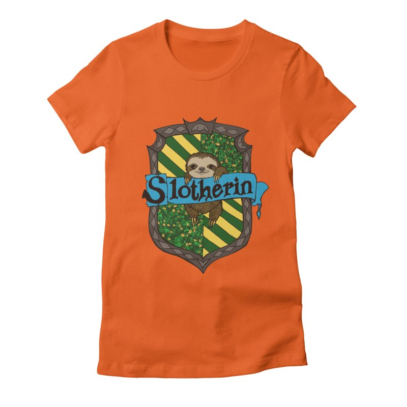 Slotherin Women's Fitted T-Shirt by klarasvedang's Shop