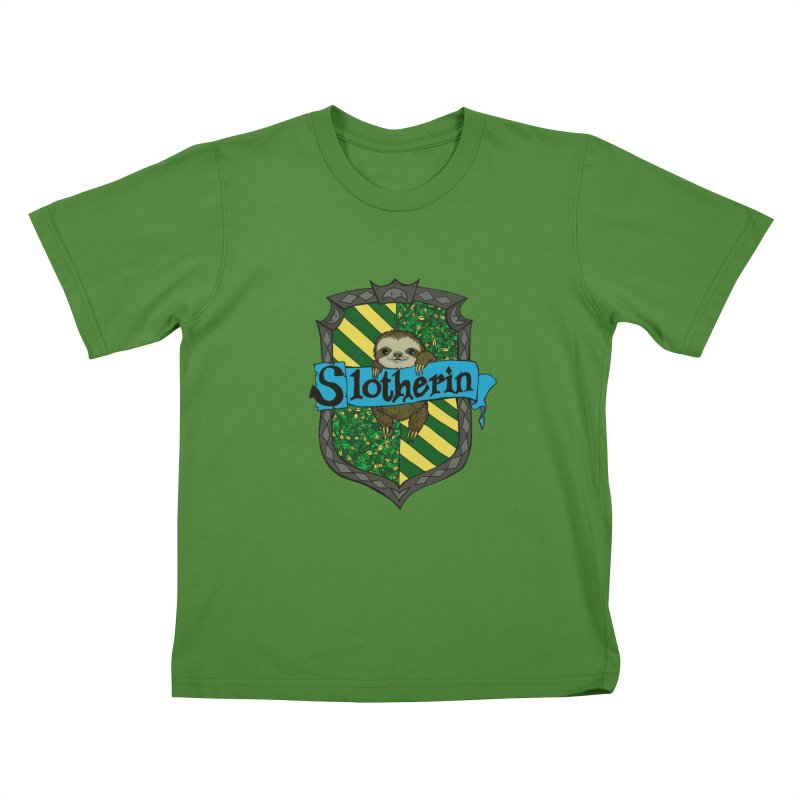 Slotherin Kids T-shirt by klarasvedang's Shop