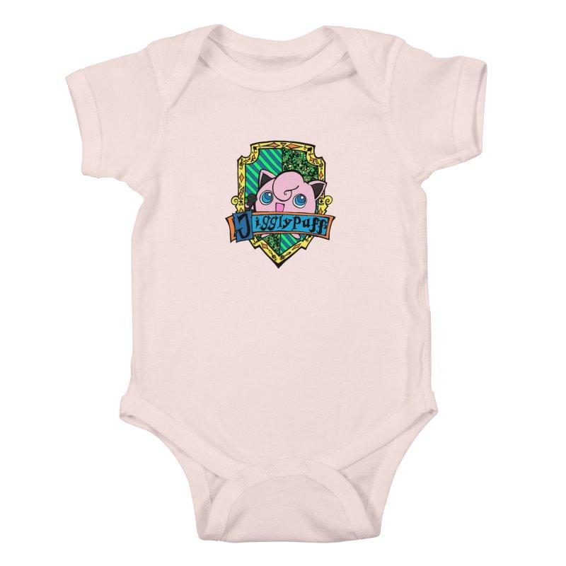 Jigglypuff Kids Baby Bodysuit by klarasvedang's Shop