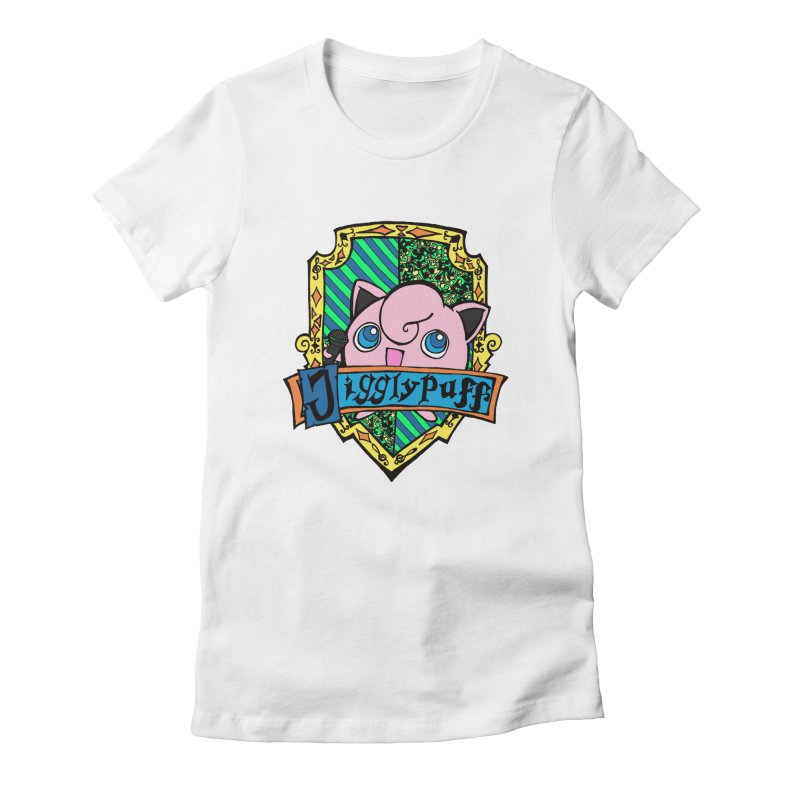 Jigglypuff Women's Fitted T-Shirt by klarasvedang's Shop