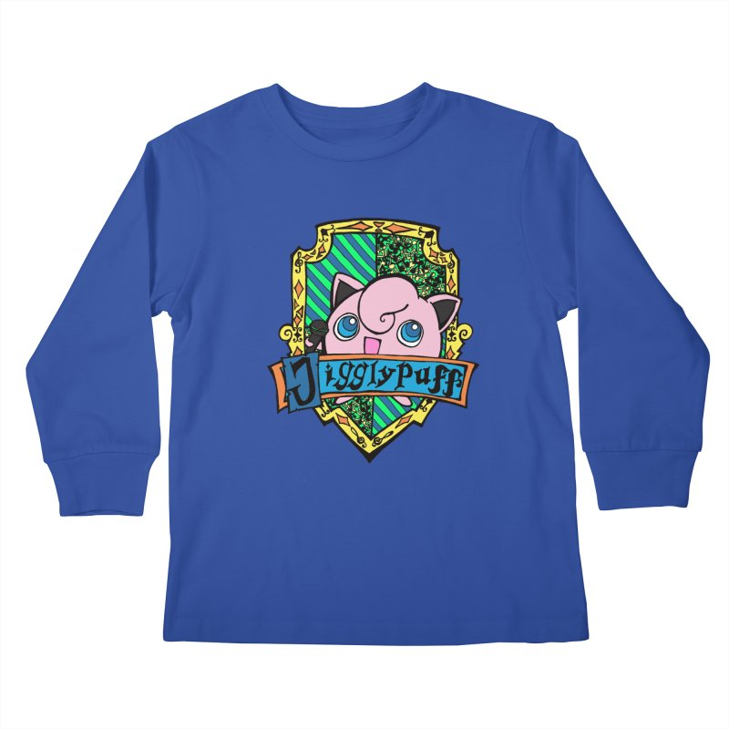 Jigglypuff Kids Longsleeve T-Shirt by klarasvedang's Shop