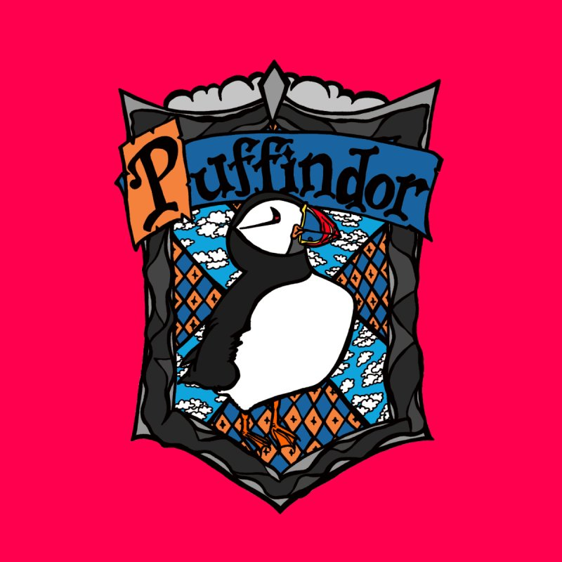 Puffindor None  by klarasvedang's Shop
