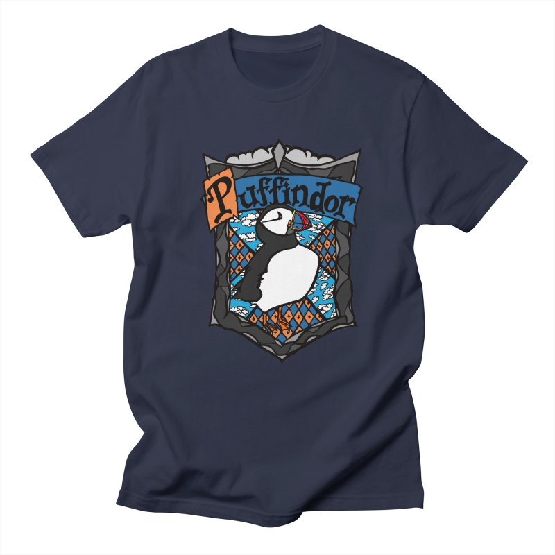 Puffindor Men's T-Shirt by klarasvedang's Shop