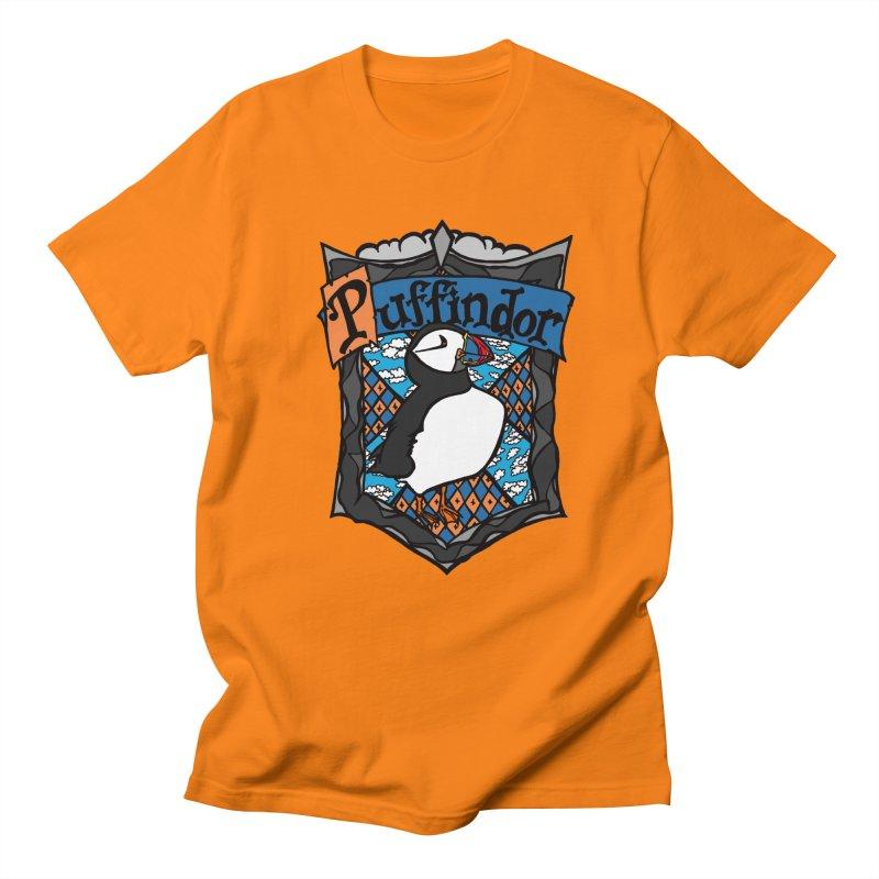 Puffindor Men's T-Shirt by klarasvedang's Shop