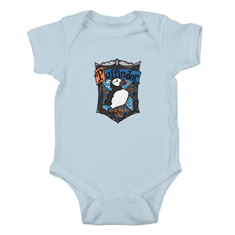 Puffindor Kids Baby Bodysuit by klarasvedang's Shop