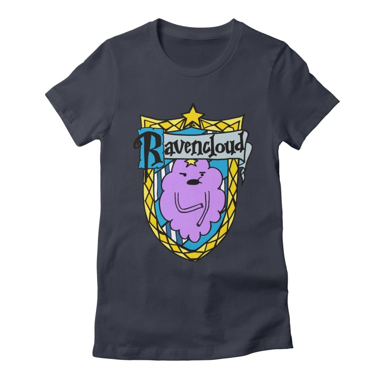 Ravencloud Women's Fitted T-Shirt by klarasvedang's Shop