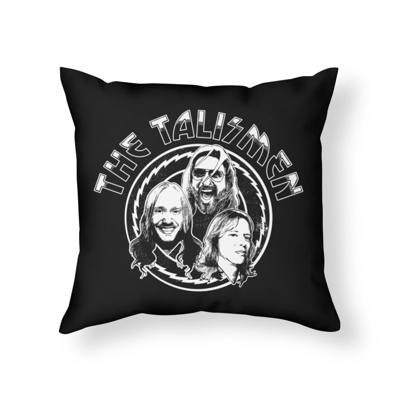 The Talismen Home Throw Pillow by Klick Tee Shop