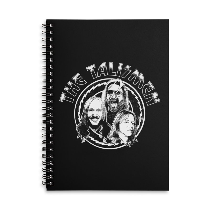 The Talismen Accessories Lined Spiral Notebook by Klick Tee Shop
