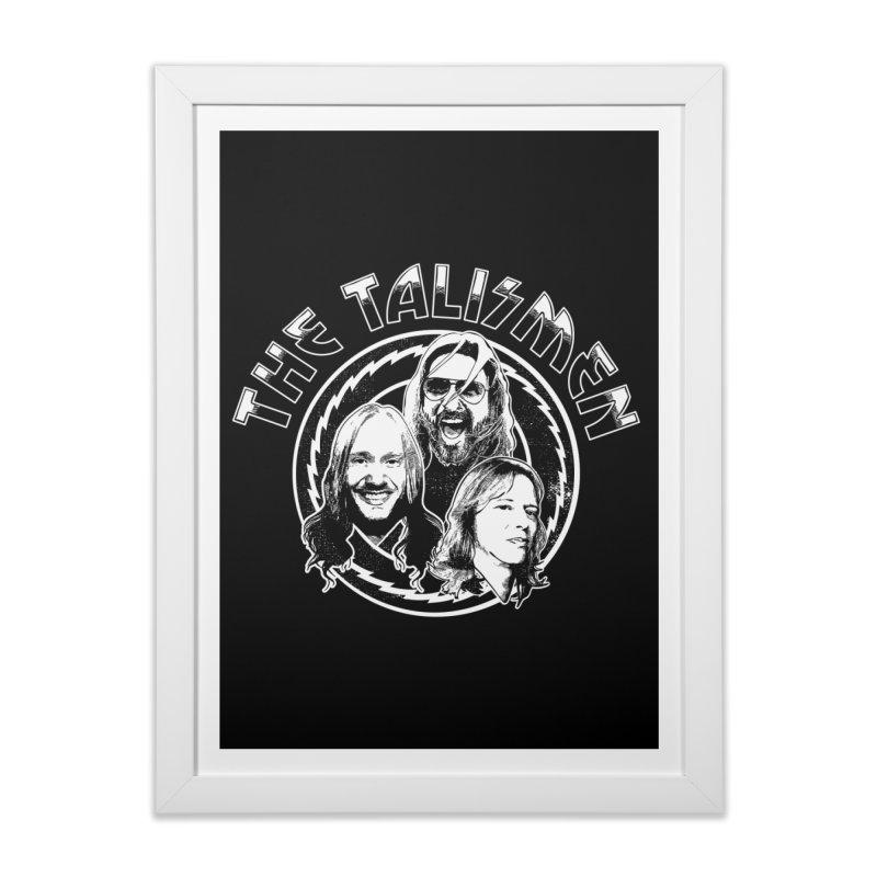 The Talismen Home Framed Fine Art Print by Klick Tee Shop