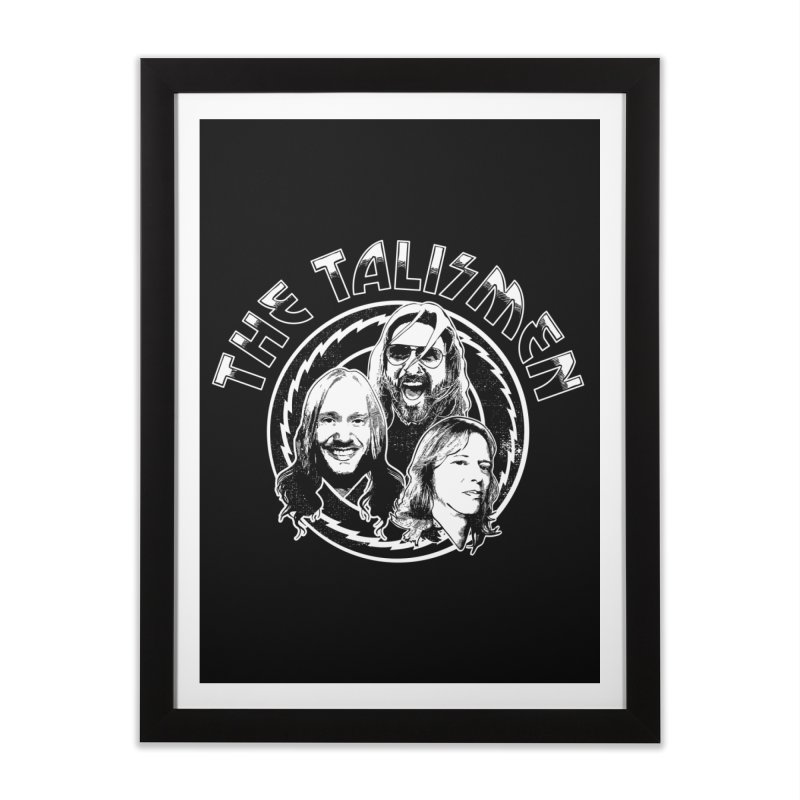 The Talismen Home Framed Fine Art Print by Klick Tee Shop