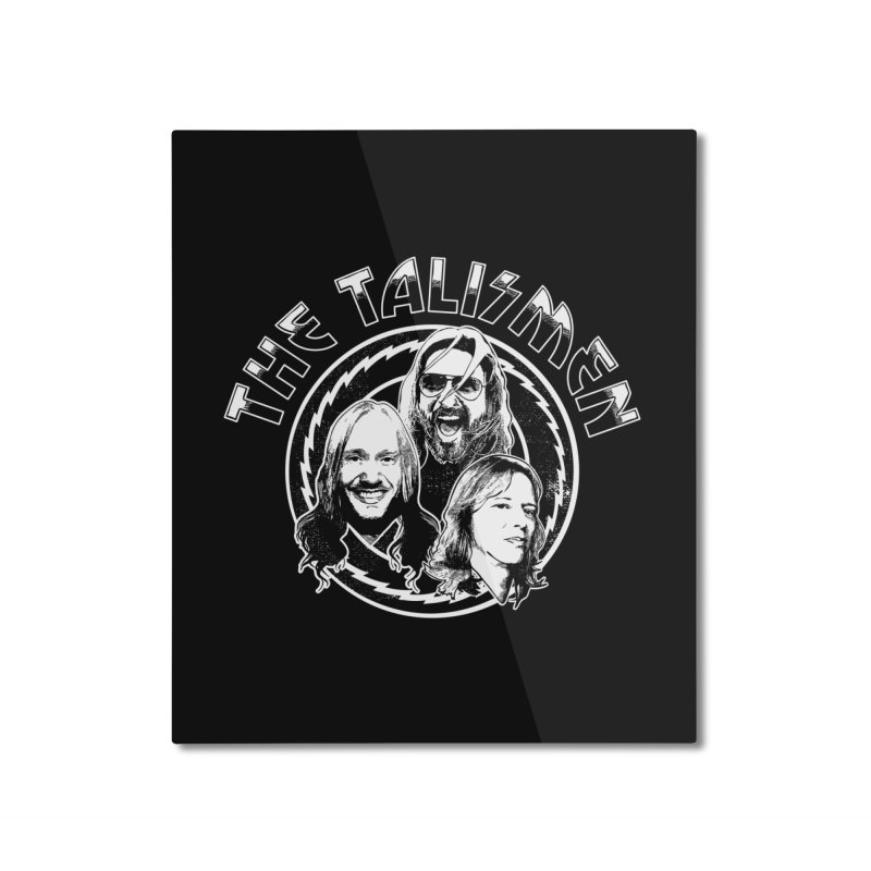 The Talismen Home Mounted Aluminum Print by Klick Tee Shop