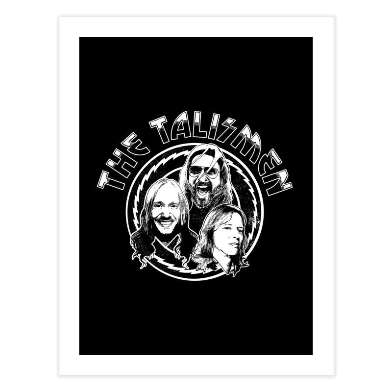 The Talismen Home Fine Art Print by Klick Tee Shop