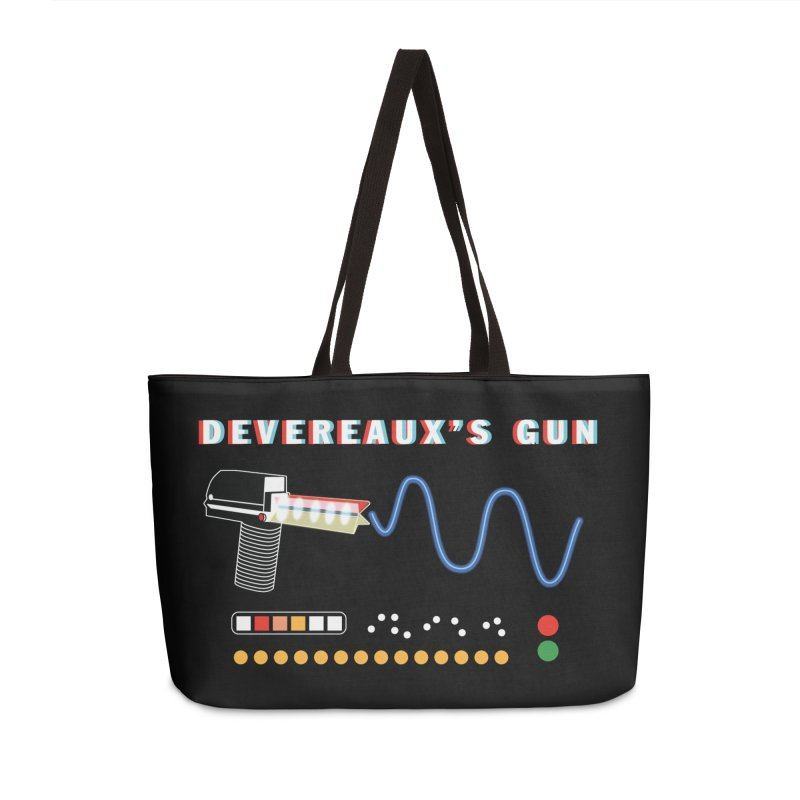 Devereaux's Gun Accessories Weekender Bag Bag by Klick Tee Shop