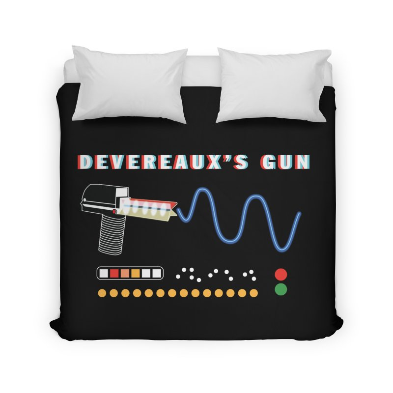 Devereaux's Gun Home Duvet by Klick Tee Shop