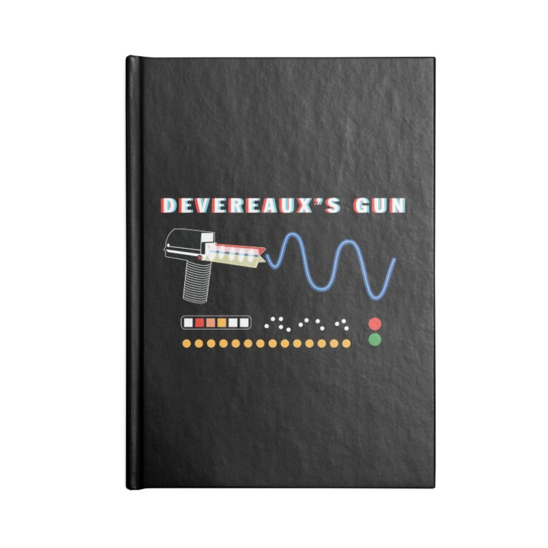 Devereaux's Gun Accessories Notebook by Klick Tee Shop