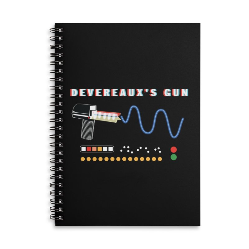 Devereaux's Gun Accessories Lined Spiral Notebook by Klick Tee Shop