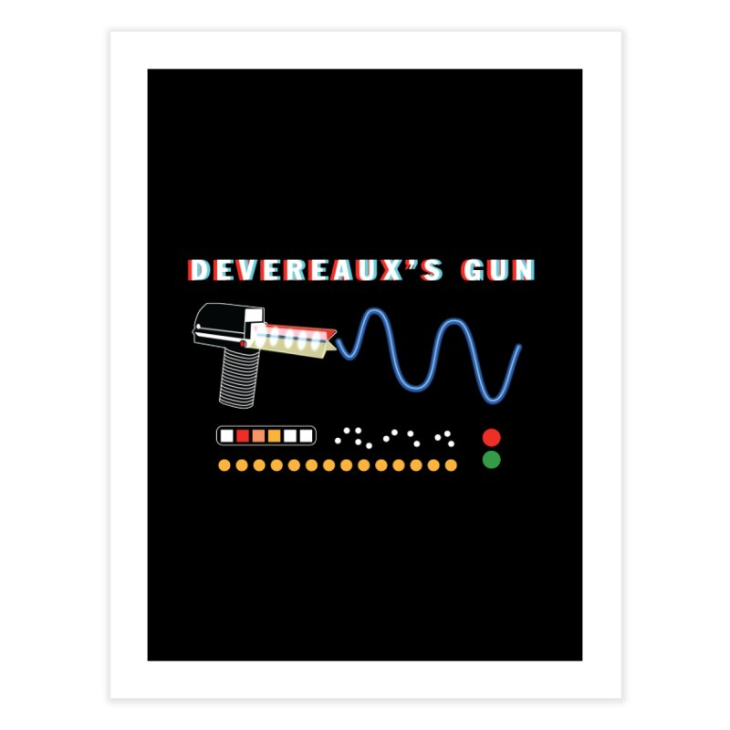 Devereaux's Gun Home Fine Art Print by Klick Tee Shop