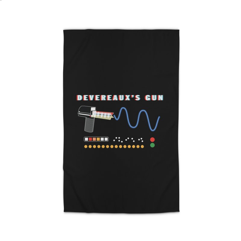 Devereaux's Gun Home Rug by Klick Tee Shop