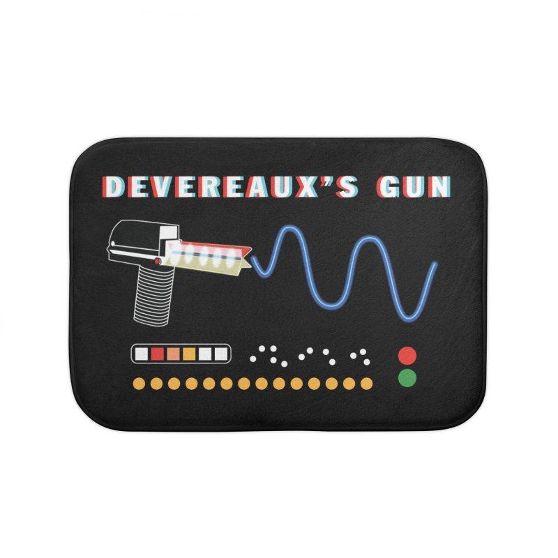 Devereaux's Gun Home Bath Mat by Klick Tee Shop