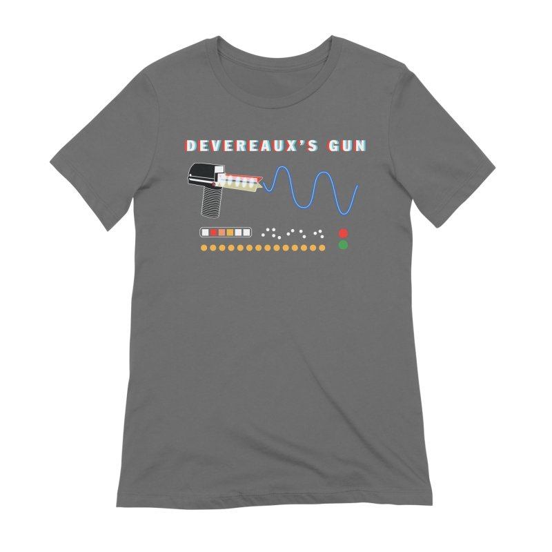 Devereaux's Gun Women's Extra Soft T-Shirt by Klick Tee Shop