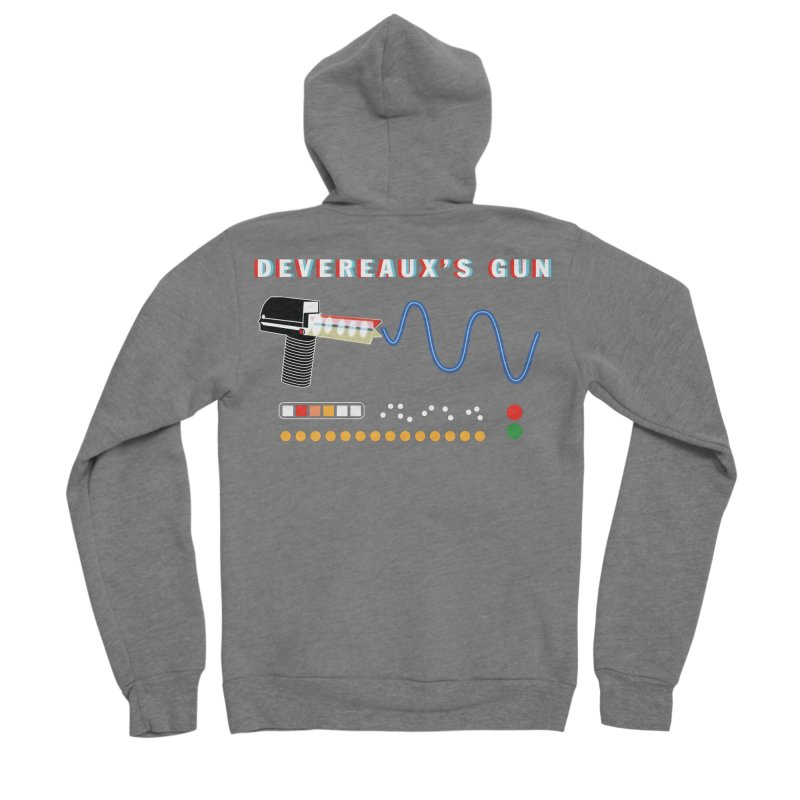Devereaux's Gun Women's Zip-Up Hoody by Klick Tee Shop
