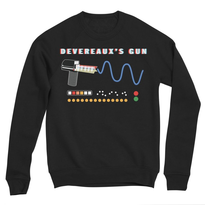 Devereaux's Gun Men's Sponge Fleece Sweatshirt by Klick Tee Shop