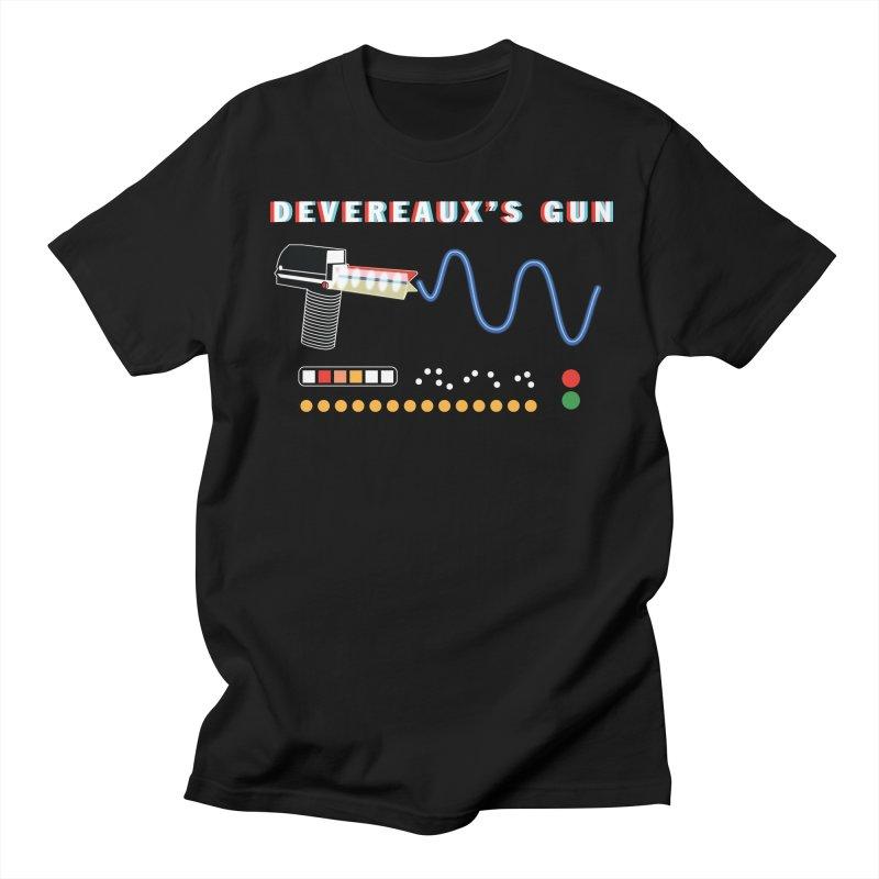 Devereaux's Gun in Men's Regular T-Shirt Black by Klick Tee Shop