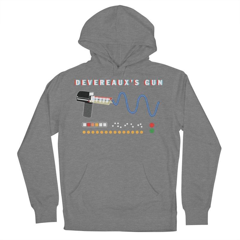Devereaux's Gun Men's French Terry Pullover Hoody by Klick Tee Shop