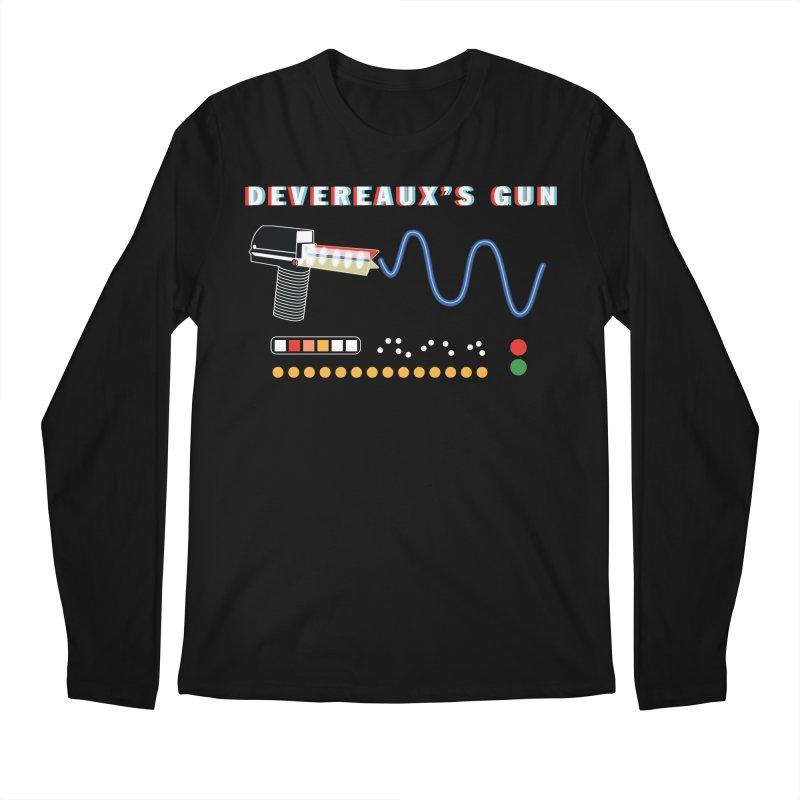 Devereaux's Gun Men's Regular Longsleeve T-Shirt by Klick Tee Shop