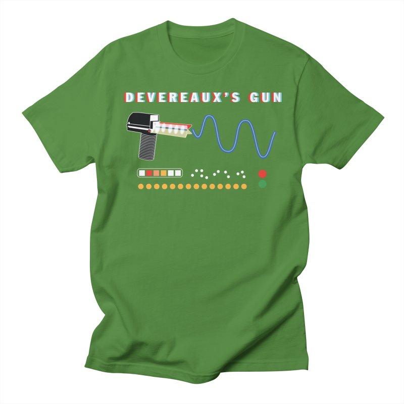 Devereaux's Gun Men's Regular T-Shirt by Klick Tee Shop