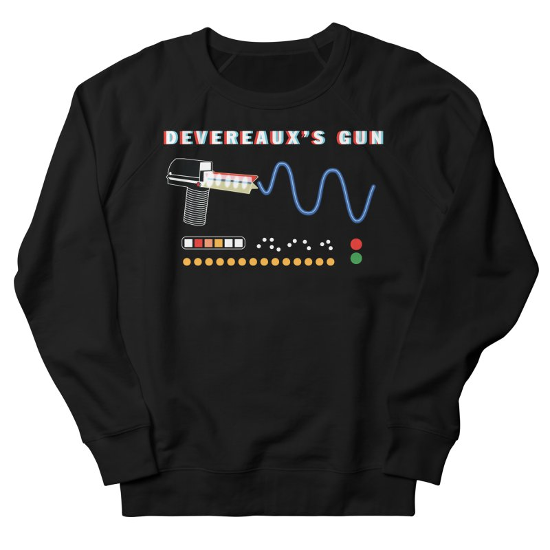 Devereaux's Gun Men's French Terry Sweatshirt by Klick Tee Shop