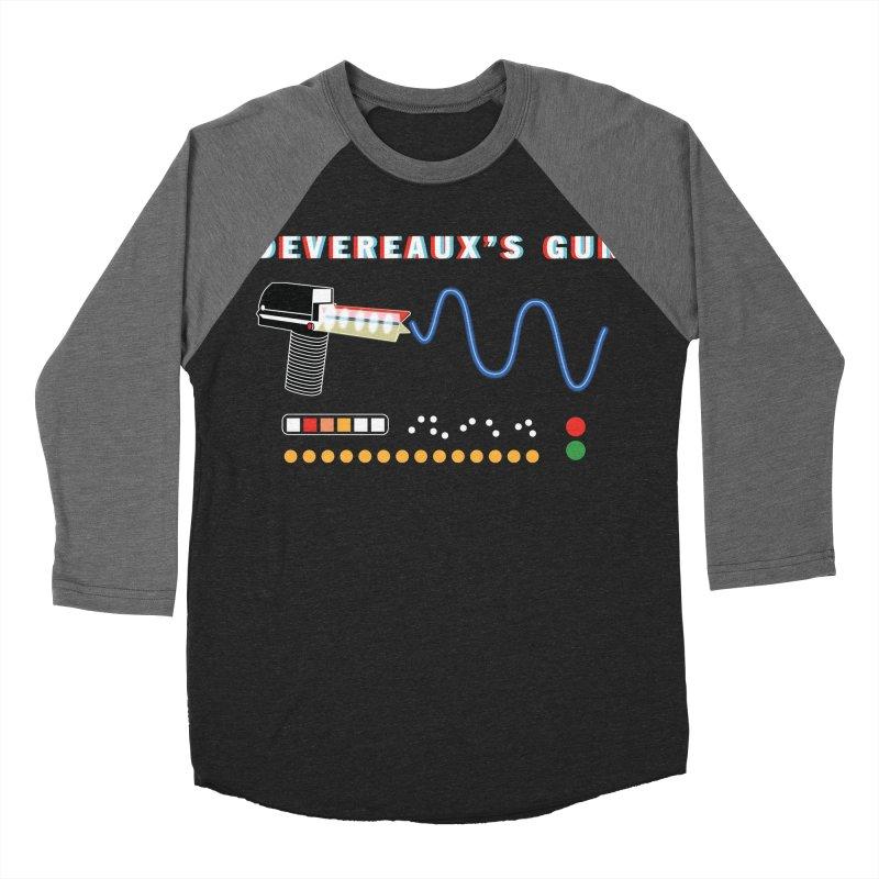Devereaux's Gun Men's Baseball Triblend Longsleeve T-Shirt by Klick Tee Shop