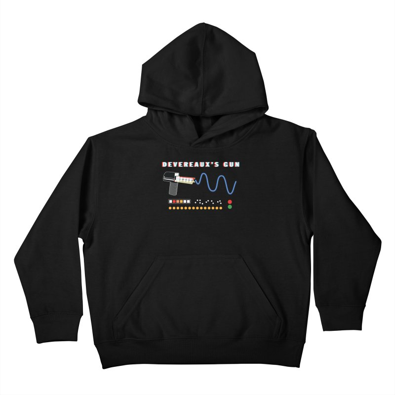Devereaux's Gun Kids Pullover Hoody by Klick Tee Shop