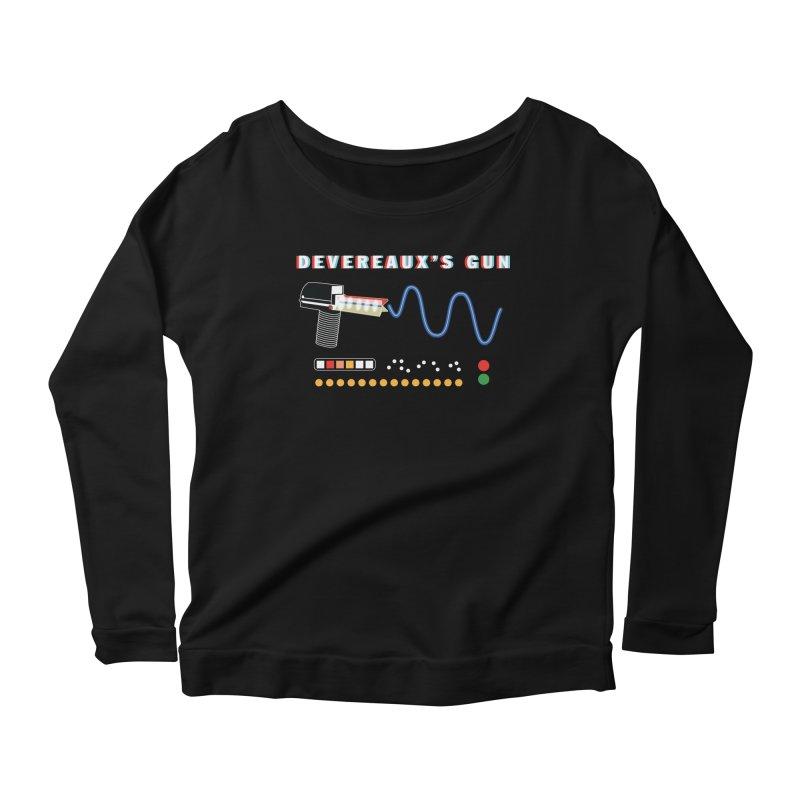 Devereaux's Gun Women's Scoop Neck Longsleeve T-Shirt by Klick Tee Shop