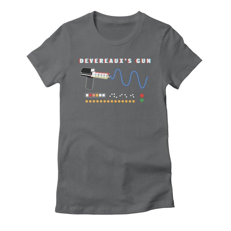 Devereaux's Gun Women's Fitted T-Shirt by Klick Tee Shop