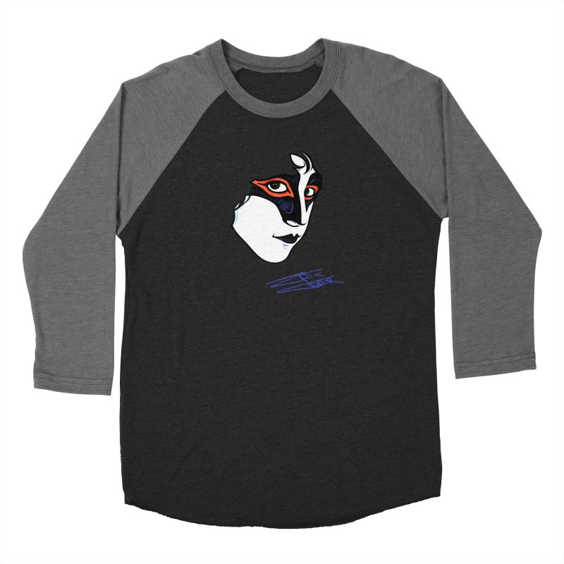 Eric Carr - Icon Women's Baseball Triblend Longsleeve T-Shirt by Klick Tee Shop