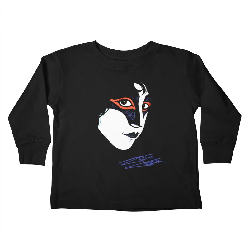 Eric Carr - Icon Kids Toddler Longsleeve T-Shirt by Klick Tee Shop