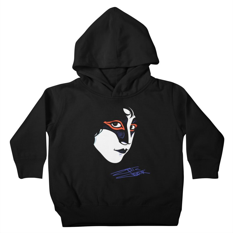 Eric Carr - Icon Kids Toddler Pullover Hoody by Klick Tee Shop