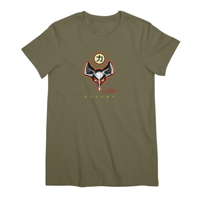 Eric Carr - The Fox Belt Women's Premium T-Shirt by Klick Tee Shop