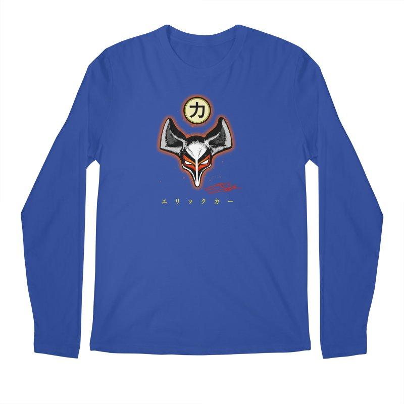 Eric Carr - The Fox Belt Men's Regular Longsleeve T-Shirt by Klick Tee Shop