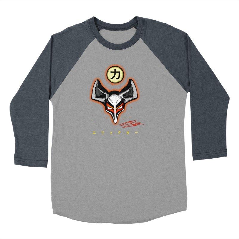 Eric Carr - The Fox Belt Men's Baseball Triblend Longsleeve T-Shirt by Klick Tee Shop