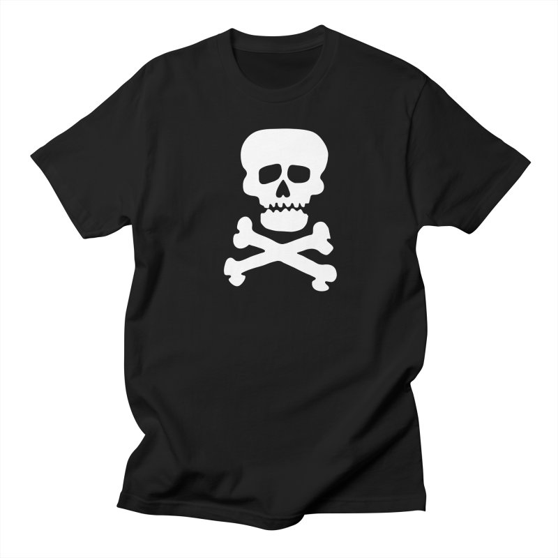 Rock Skull Men's T-Shirt by Klick Tee Shop