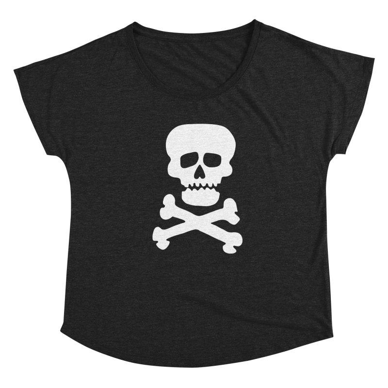 KISS Gene Simmons Demon Skull Women's Scoop Neck by Klick Tee Shop