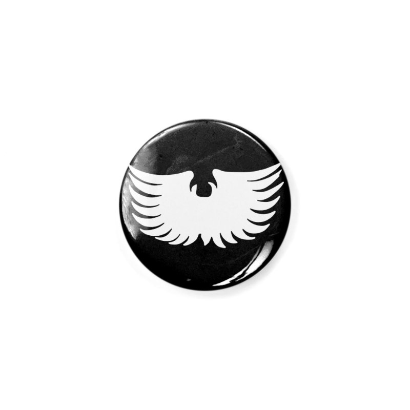 KISS Ace Frehley Eagle Wings Accessories Button by Klick Tee Shop
