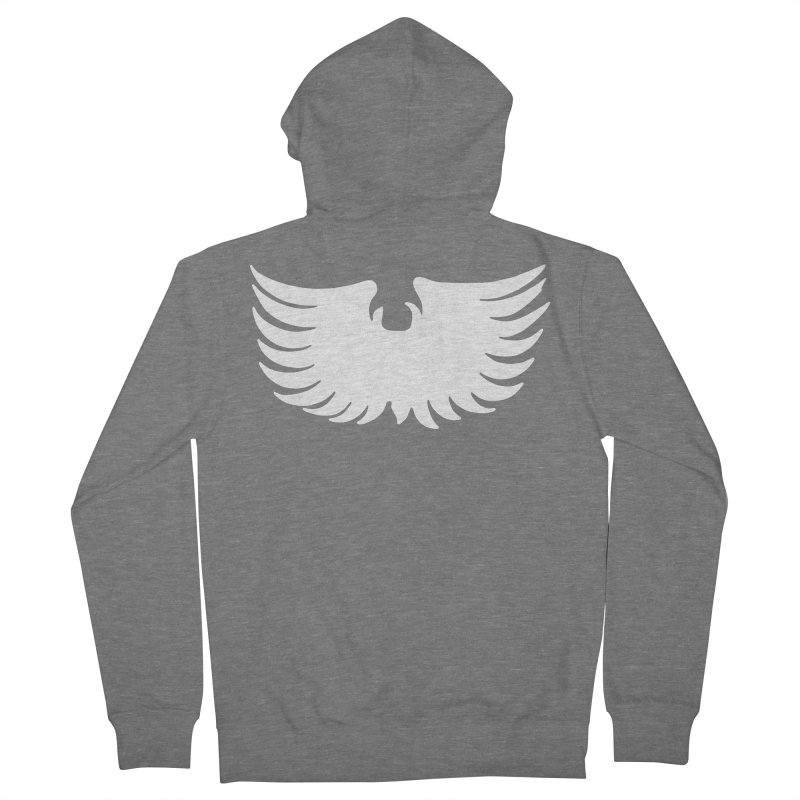 Metal Eagle Women's French Terry Zip-Up Hoody by Klick Tee Shop