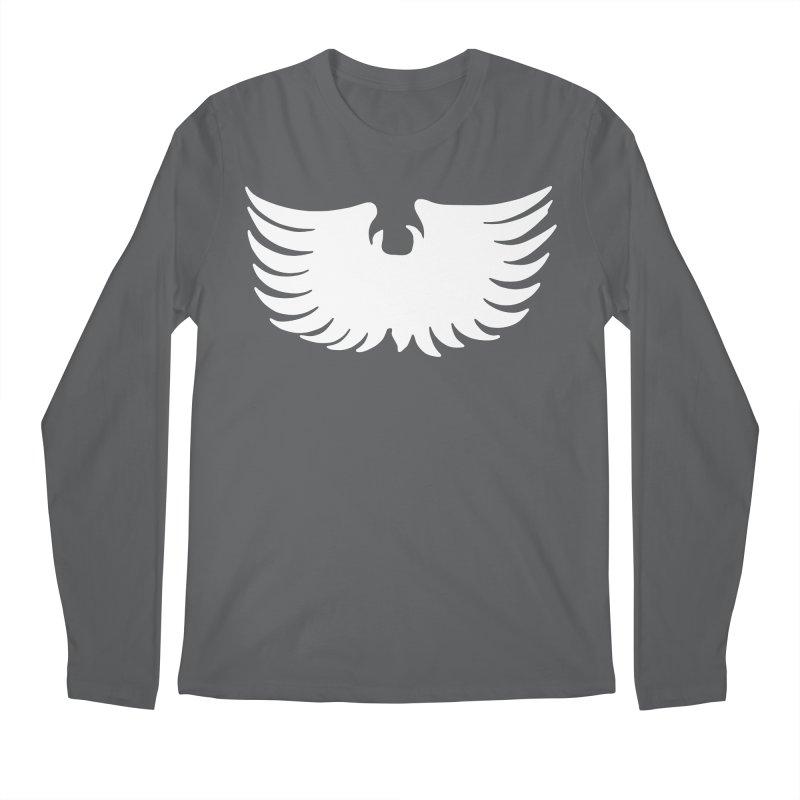 Metal Eagle Men's Longsleeve T-Shirt by Klick Tee Shop