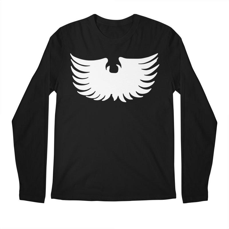 KISS Ace Frehley Eagle Wings Men's Longsleeve T-Shirt by Klick Tee Shop