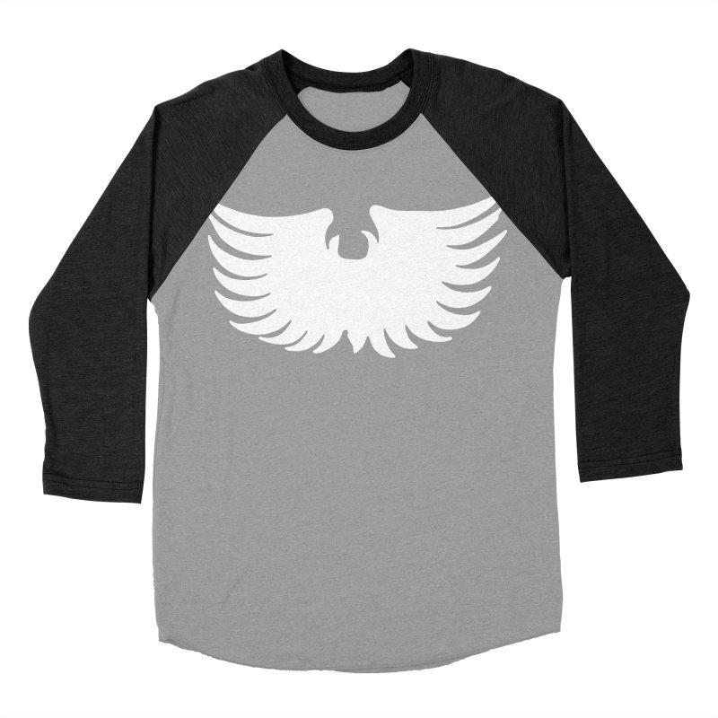 Metal Eagle Women's Baseball Triblend Longsleeve T-Shirt by Klick Tee Shop