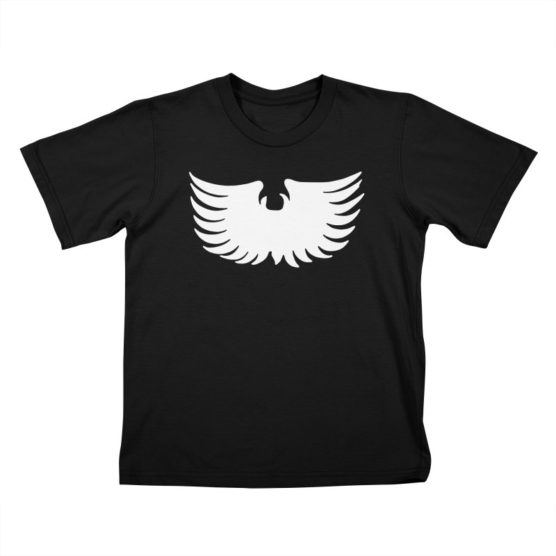 Metal Eagle Kids T-Shirt by Klick Tee Shop