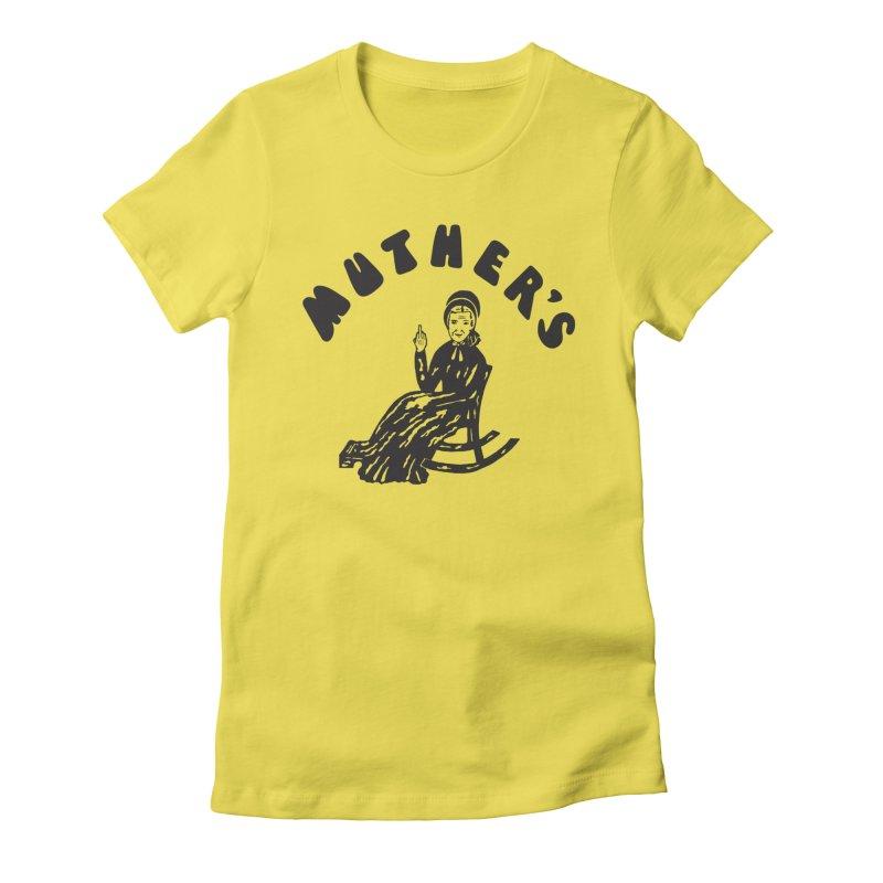 Muther's Music Emporium Women's T-Shirt by Klick Tee Shop